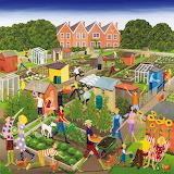 Allotments Square - Louise Braithwaite