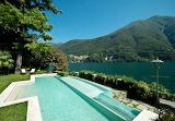 Italian lakes villa and pool