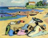 Gabriele Münter, Beach at bornholm, 1919