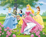 Princesses Among the Roses