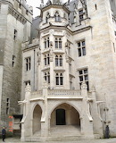 Château de Pierrefonds, France, entrance to Residential Block