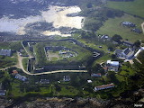 Chausey, Fort, Aerial view