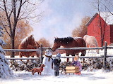 Winter Art by Mark Keathley...