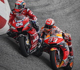 Dovizioso and Márquez