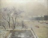 Camille Pissarro, Le Louvre sous la neige, 1902