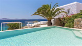 Pretty seaview, luxuxry villa and pool, Greek islands