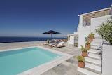 Pretty sea and mountain view villa in Mykonos