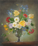 Cecil Kennedy flower painting