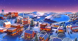 Winter Town by Robin Moline