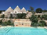 Beautiful restored Trullo home with pool in Puglia, Italy