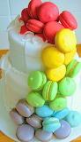 Macaron cake @ Sweet Serendipity