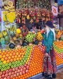colourful fruit shop