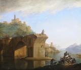 Ponte Molle near Rome by Jan Asselyn