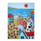 Karla-Gerard-Seaside-Cat-Canvas-Art