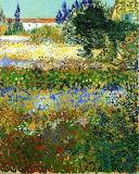"""Garden tumblr dogstardreaming """"Flowering Garden"""" """"Vincent van Go"""