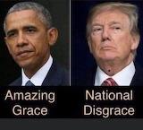 Amazing Grace vs National Disgrace