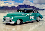 1942 Chevrolet Fleetline Aerosedan Gang Green Record Car