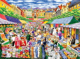 A Day at the Marketplace - Gale Pitt