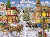 Christmas Art by Joseph Burgess...
