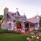 Gingerbread House. Orlando, Florida.