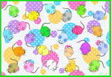 Colourful Mice & Polka Dots