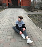 Boy in sneakers