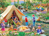 Camping-at-summers-end-mary tompson