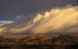 Storm over the landscape