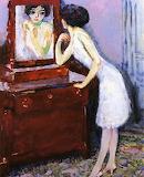 Kees Van Dongen, Woman before a mirror, 1908