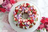Flower baking