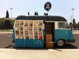 Beautiful Blue Tell a Story Book Van