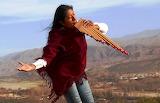 Micaela Chauque playing the siku