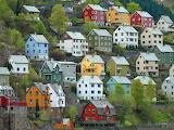 Odda Norway houses