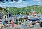 Bowness Pier Lake Windermere - Trevor Mitchell