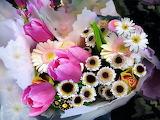 Bouquet flowers bunch flowers