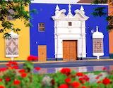 Plaza de Armas in Peru