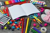 School-stationery-background-supplies-white-back-1445891-pxhere.
