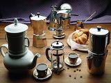 Cafeteras y café