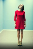 Casual Short Red Dress