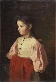 I.M. Pryanishnikov. Peasant girl in a red apron