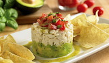 ^ Crab and Avocado Stack