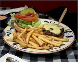 ^ Cheeseburger and French Fries