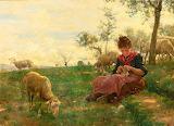 Knitting Shepherdess~ RaffaelloSorbi