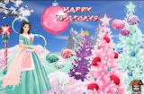 Happy Pink and Green Holidays