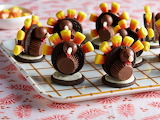 #Candy Place Settings for Thanksgiving