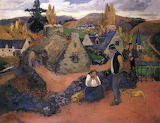 Pont Aven, The Village by Paul Gauguin 1894