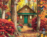 ☺♥ Pretty cottage in the woods...