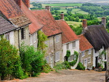 ^ Cottages, Shaftsbury, Dorset, England