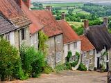 ^ Cottages, Shaftsbury, Dorset, England