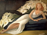 Diego Rivera, Portrait de Natasha Gelman, 1943